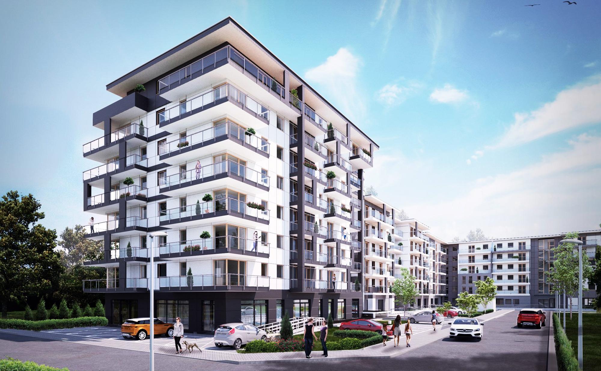 Ruszył III Etap budowy kompleksu mieszkalnego Zielony Bulwar w Kielcach